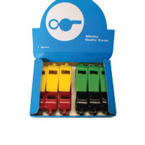 Plastic Whistle - Assorted Colours (Set of 12)