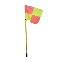 Corner Flag with Ground Spike