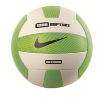 Nike 1000 Softset Outdoor Volleyball - Electric Green/White