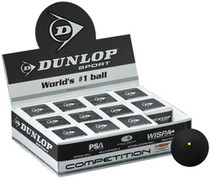 Dunlop Competition Box of 12 Balls