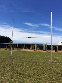 Rugby Post with sleeve(Junior) - 6m x 60mm