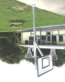 Basketball/Netball Reversible Tower - Adjustable Height
