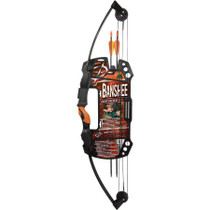Archery Set - Barnett Banshee Quad 25lb Compound