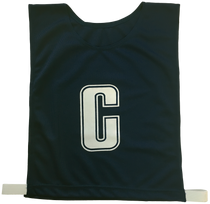 Netball Bibs - Set of 6 (Lettered A, C, D) Multiple Colours
