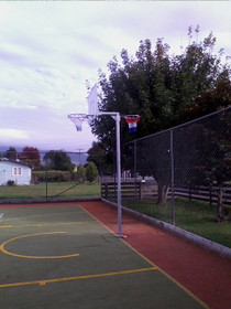 Basketball/Netball Reversible Tower - Senior Fixed Height