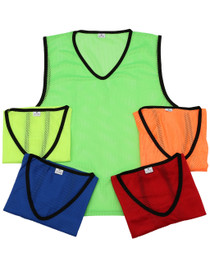 Mesh Singlet with Piping – Assorted Colours