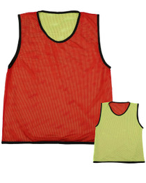 Reversible Mesh Red/Yellow Singlet