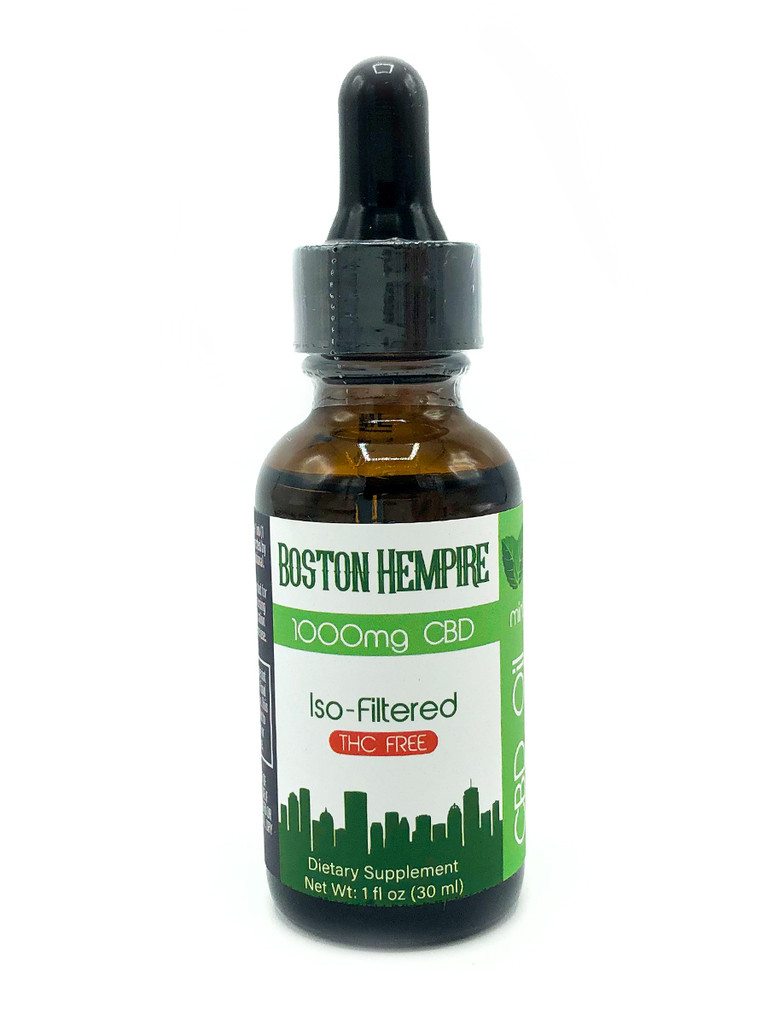 Mint Flavored Iso-Filtered CBD Tincture