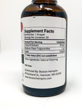 Mint Flavored Iso-Filtered CBD Tincture Supplement Facts
