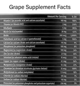 Grape Recovery Potion Facts