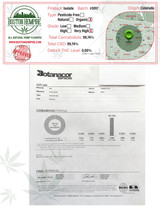 CBD Isolate lab report