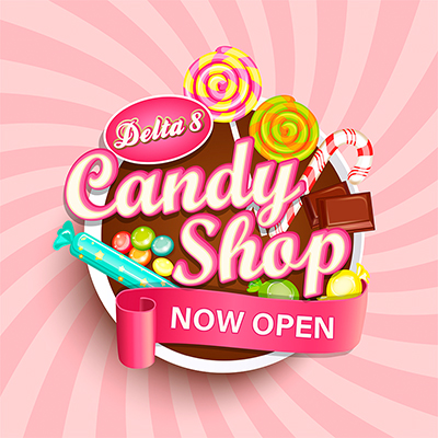 Boston Hempire delta 8 candy shop with gummies, chocolate, hard candy and more