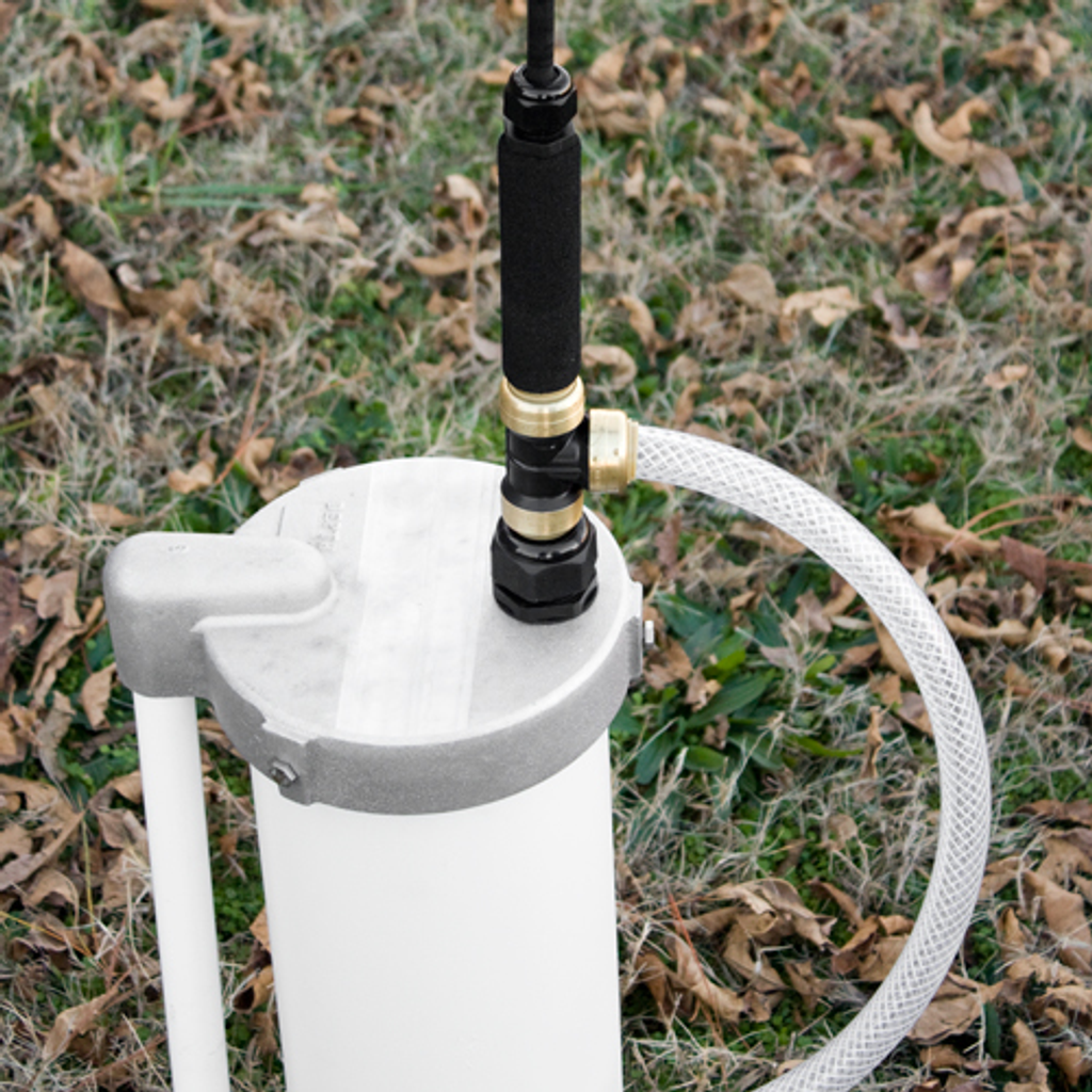 6-Inch Well Cap with EarthStraw Gripper