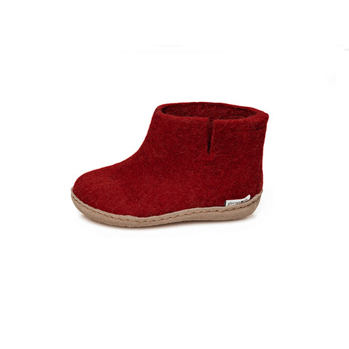Model GG Kids Boot, Leather Sole