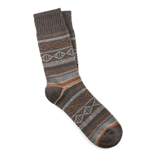 Men's Earth Dark Brown Melange