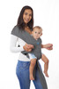 Dreamgenii SnuggleRoo Baby Carrier - Charcoal Grey