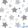 Dreamgenii Pregnancy, Support and Feeding Pillow Grey Stars - includes free cover!