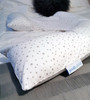 Dreamgenii Pregnancy, Support and Feeding Pillow Jersey Cotton Small Grey Star - includes free spare cover!