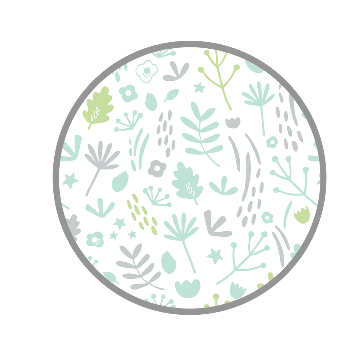 Dreamgenii Pillow Cover - Nature, Grey and Green