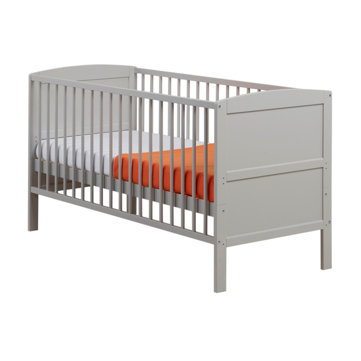 East Coast Hudson Cot Bed, Grey