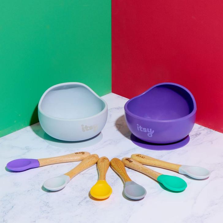 Itsy Spoonz & Suction Bowl Saver bundle