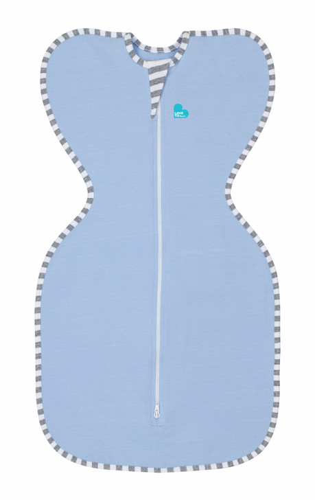 Love to Swaddle UP Original – Blue,  Small, Twin Pack