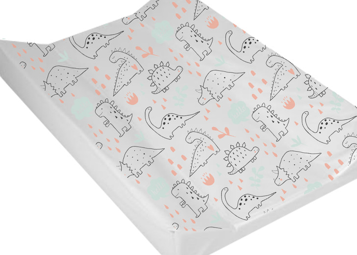 MollyDoo Wedge Changing Mat Anti-Roll Dino