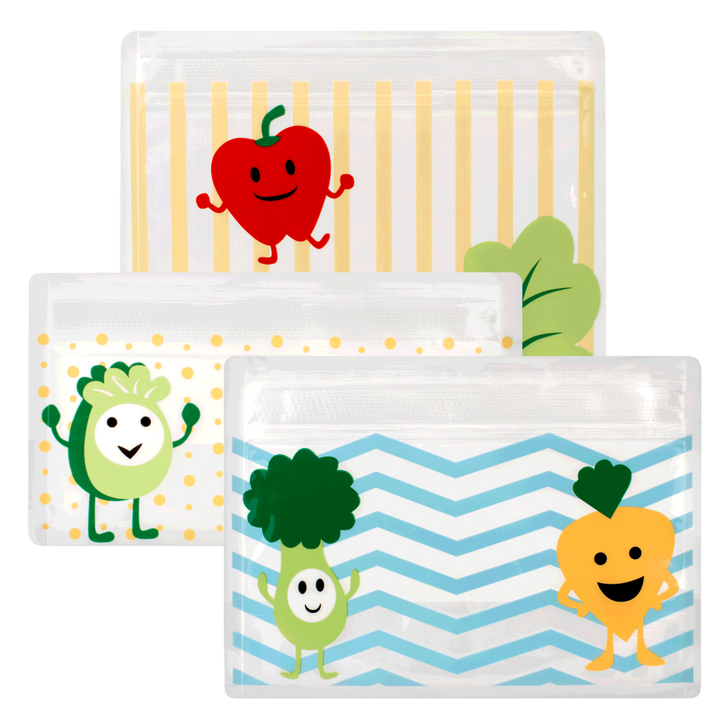 Tummy Grumbles Reusable Snack Bags