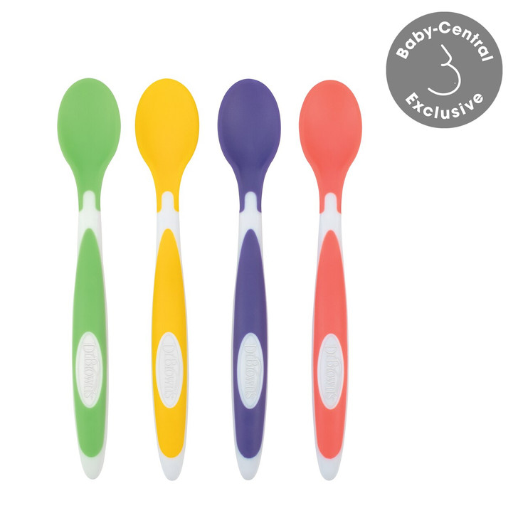 Dr Brown's Soft Tip Spoons 4 Pack