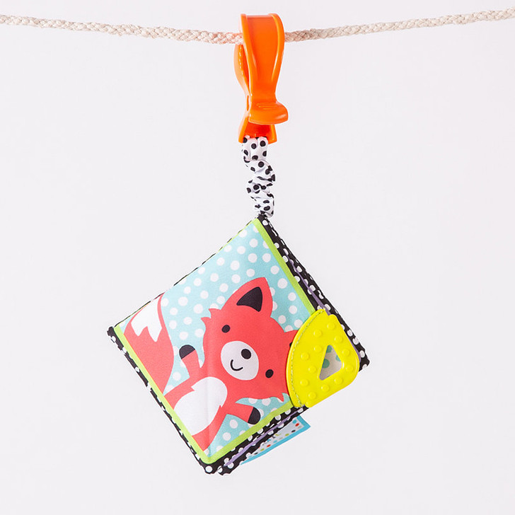 Story Book Clip On Teether
