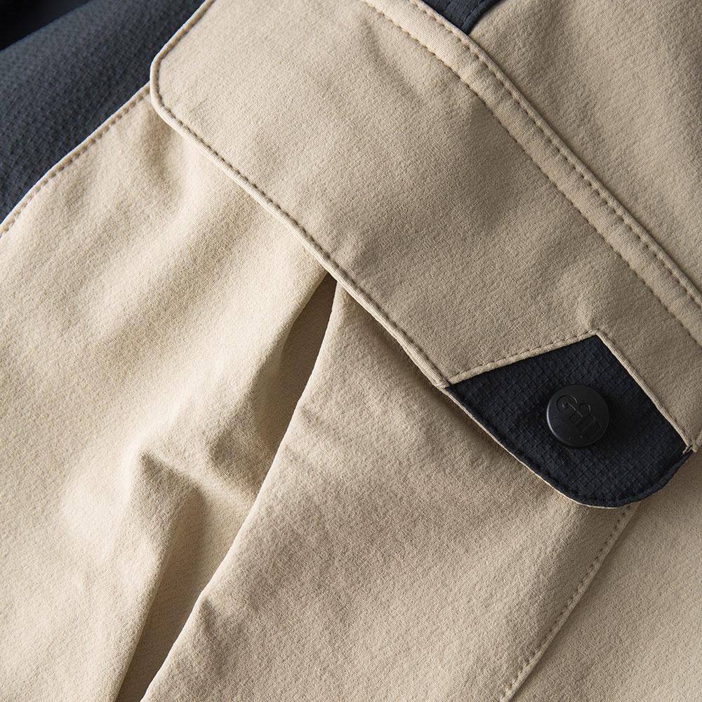 Men's UV Tec Pro Shorts - UV013-KHA01-6.jpg