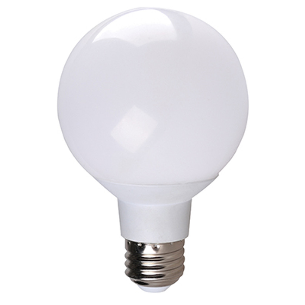 4-Pack Dimmable LED Globe, 6W (40W eqv), 2700K