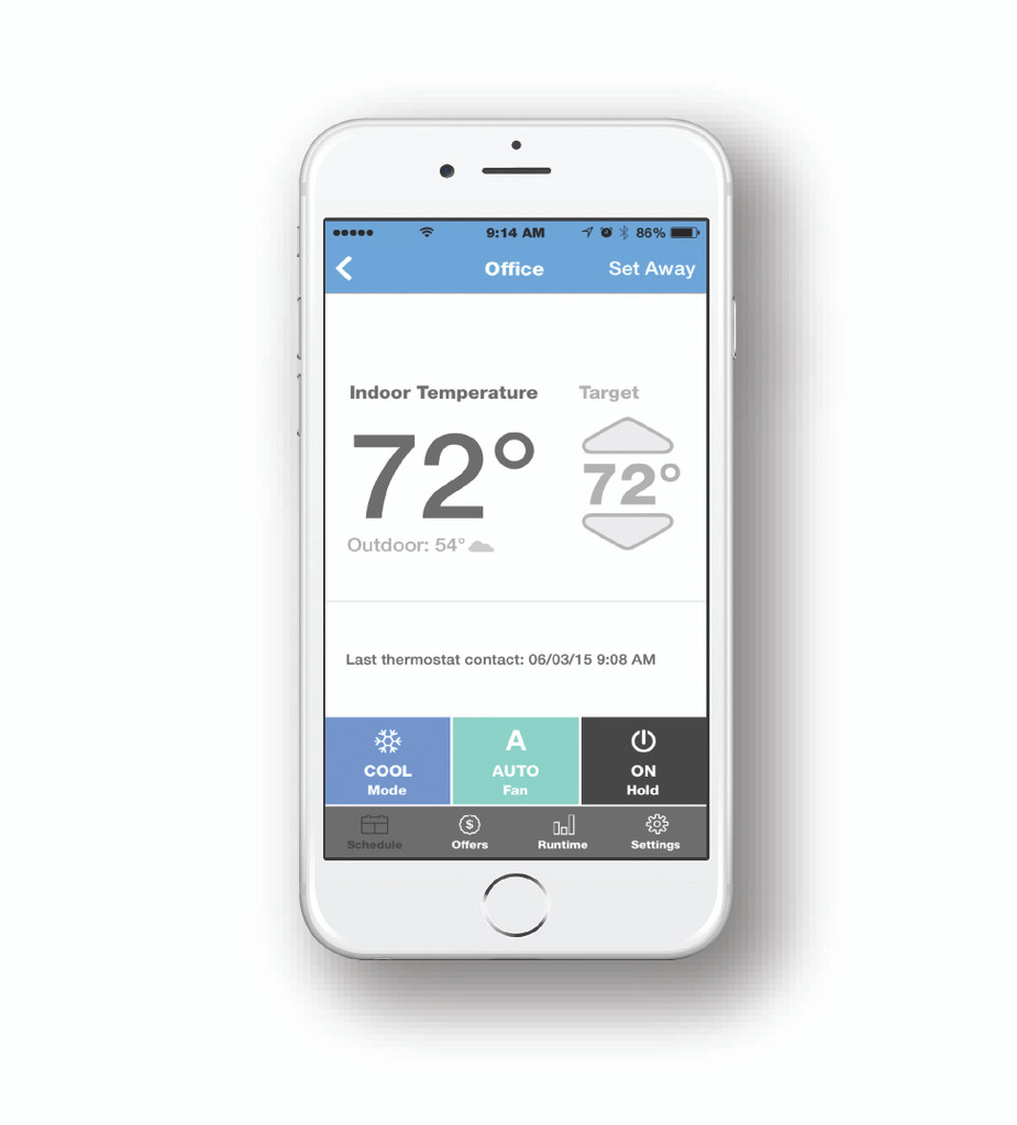 G2 WiFi thermostat