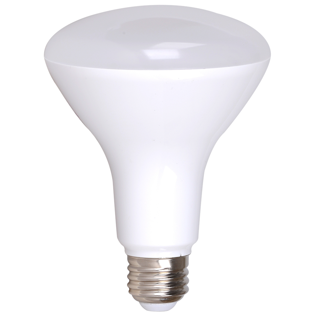 4-Pack Dimmable LED BR30, 8W (65W eqv), 2700K