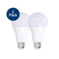 2-Pack Dimmable LED, 4/8/12W (40/60/100W eqv), 2700K
