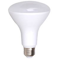 4-Pack Dimmable LED BR30, 11W (75W eqv), 2700K