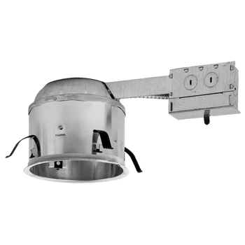 6 Inch Shallow Remodel Housing - LED TP24 Connector - IC Rated