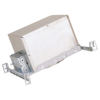 6 inch - Sloped Ceiling Double Wall New Construction Housing - E26 Socket