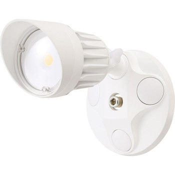10W - Single Head - LED Security Light - Weatherproof - White - 5000K