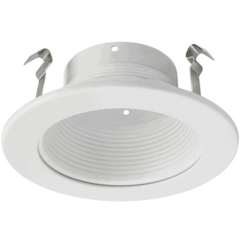 4 Inch - White Trim - For 4 Recessed Can - PAR/R20