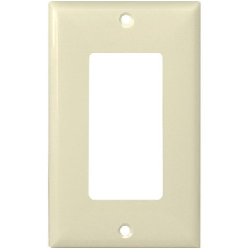 Decorator Wall Plate - Almond - 1 Gang