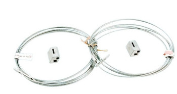 Wire cable hanging kit - 2 Piece Kit - 5 Ft Long