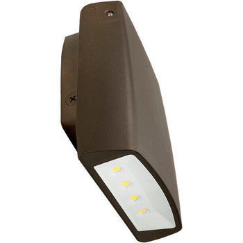 Integrated LED Wall Pack with Photocell - 70 Watt - 7500 Lumens