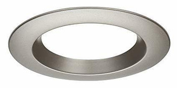 Nickel Satin Round Trim for 6 Inch LED Downlights
