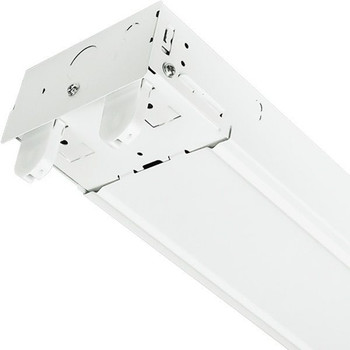 LED Ready Strip Fixture - 4 Foot - 2 Lamp