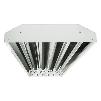 6 Lamp / Bulb T5 LED High Bay - 600W Equal - 5000K - 21000 Lumens