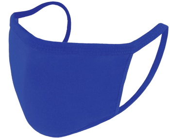 Reusable Face Mask - Royal Blue - Pack of 5