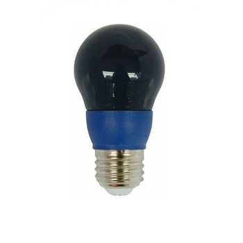 LED Colored Bulb - 5 Watt A-Bulb - Blue