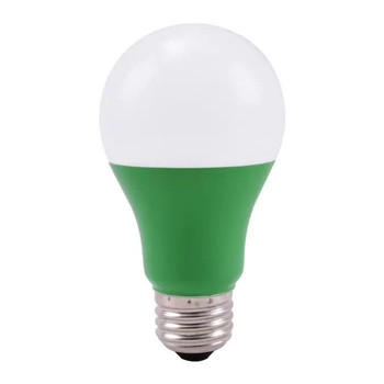 LED Colored Bulb - 5 Watt A-Bulb - Green