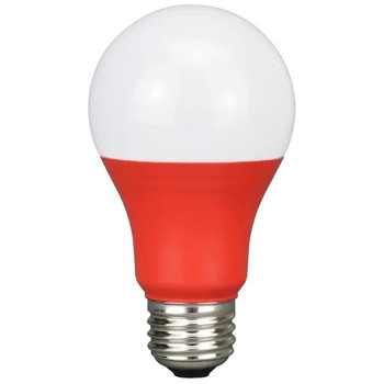 LED Colored Bulb - 5 Watt A-Bulb - Red